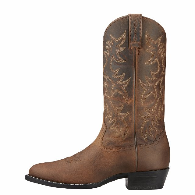 Ariat Men S Heritage Western R Toe 34725 Outback Whips