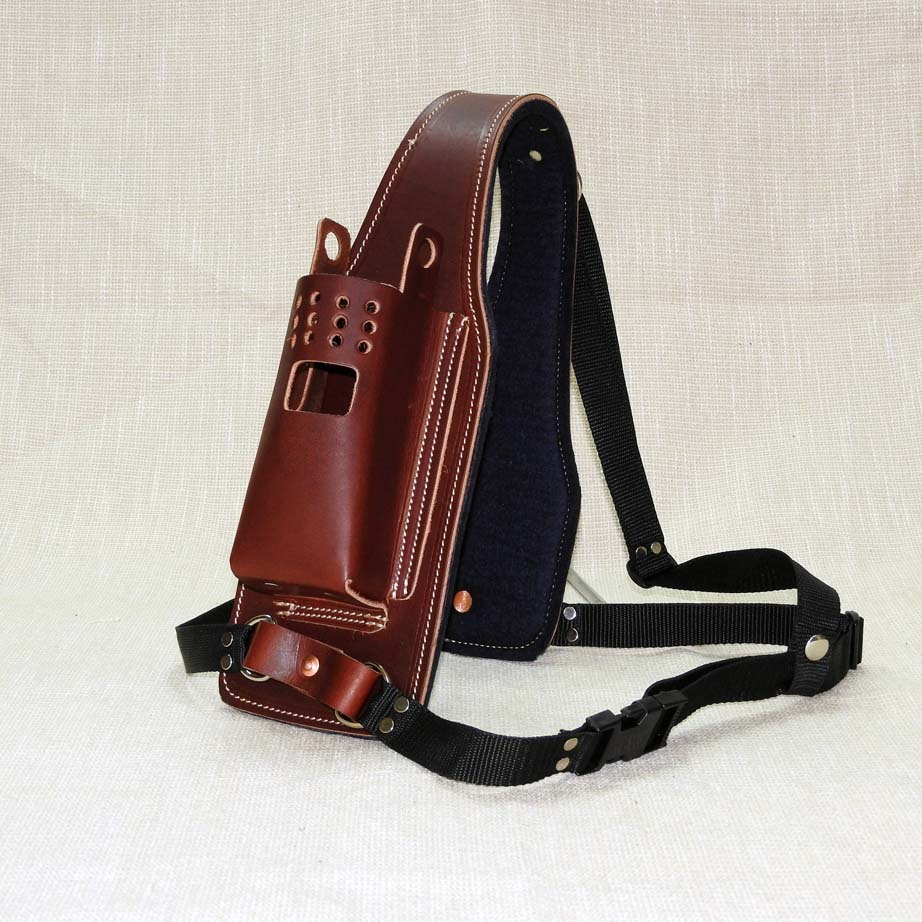 Uhf Holster Leather Outback Whips Amp Leather